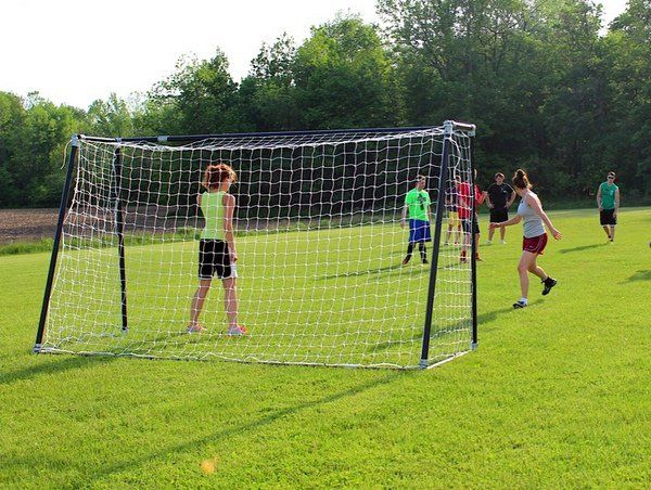 When researching 6x12 youth soccer goals for her recreational league, Rachel from Upstate New York, tapped into Kee Klamp fittings to create this impressive set of soccer goals. Her goal (pun intended) was to create a set of small goals for a recreational soccer league.