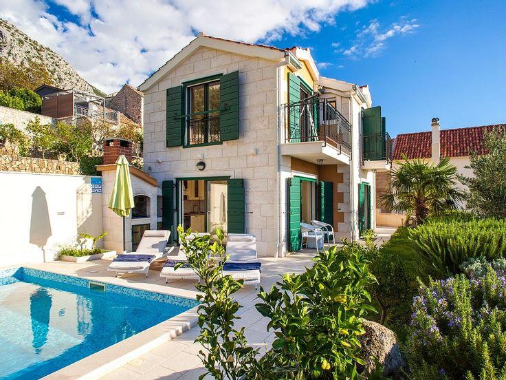 Luxus Villa Mit Pool Makarska An Der Makarska: 2 Schlafzimmer, Für Bis Zu 6