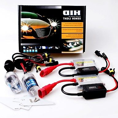 12V 55W H1 5000K Slim Aluminum Ballast HID Xenon Headlights Kit – USD $ 19.99