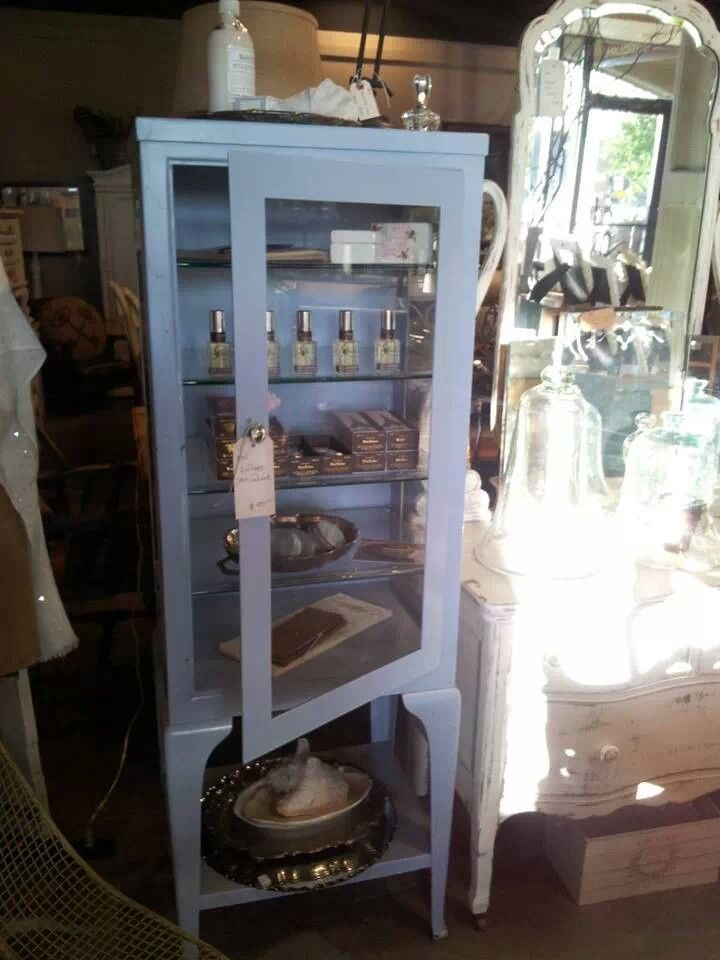 Antique Medical Cabinet For The Bathroom