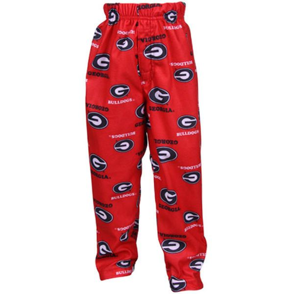 Georgia Bulldogs Toddler Red Team Logo Flannel Pajama Pants - $17.99