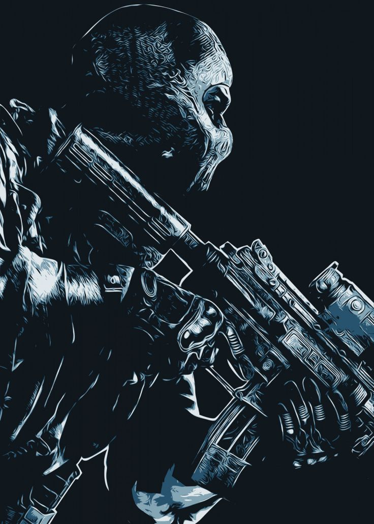 Call of duty ghost metal poster print creativedy stuff