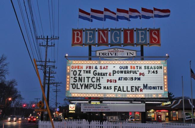 Bengies Drive-In in Baltimore | America's Best Drive-In Movie Theaters | Fodors