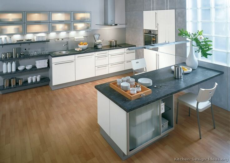 Kitchen of the day modern white kitchens by alno ag for Alno kitchen cabinets