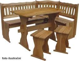 Výsledek obrázku pro dřevěná lavice do kuchyně