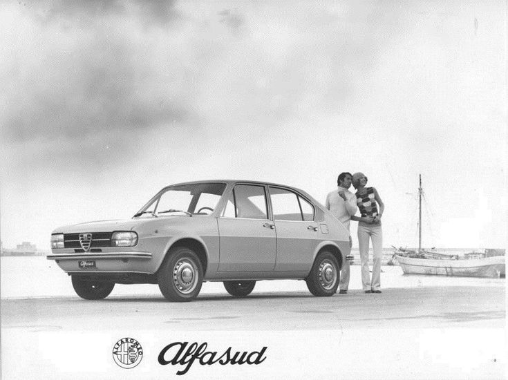 1972 Alfa Romeo Alfasud ORIGINAL Factory Photo oub8911   eBay
