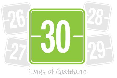 Home - 30 Days of Gratitude App