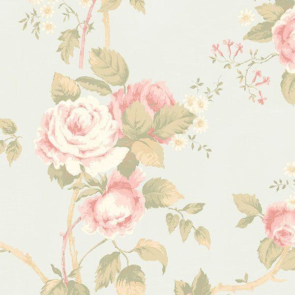 Tapeta ścienna w róże róża Fleurs et Toiles CG28814 Galerie