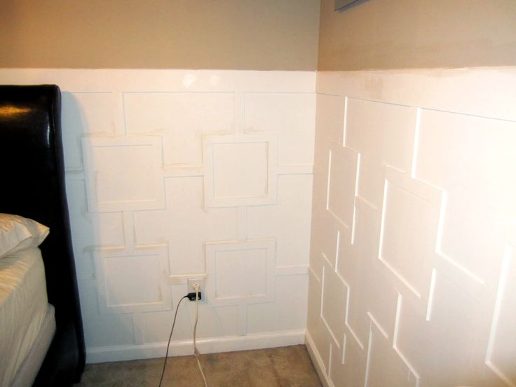 Board With The Regular Wainscoting! Try This Fabulous New Wainscoting Design !
