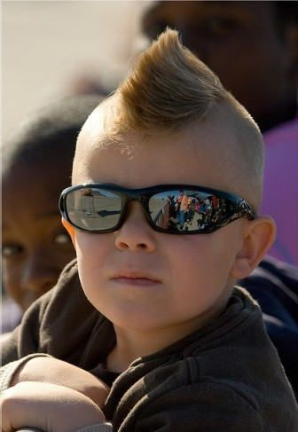 Mohawk Hairstyle .. so adorable