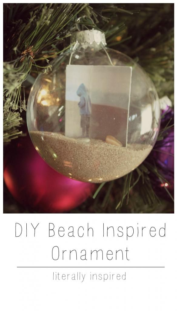 DIY Beach Inspired Ornament - Literally Inspired