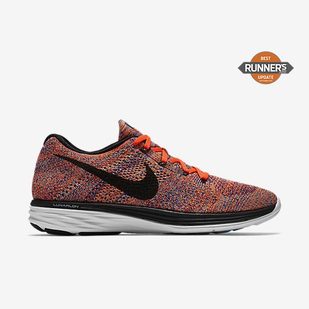men's nike shoes in bright orange and white moths 927351