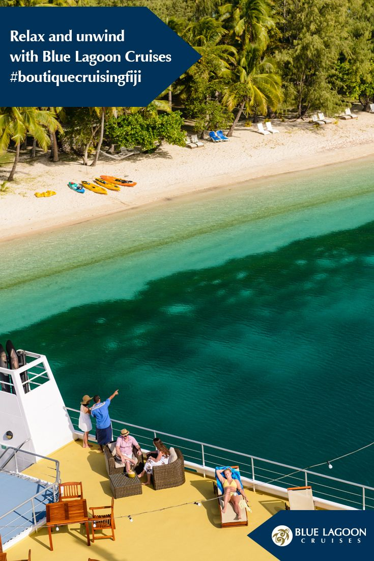 Visit remote #island #villages, #discover the ancient #Fijian #culture, sit down to an island #feast set on a breathtakingly #beautiful #beach, #swim with #manta #rays, learn how to #cook #traditional #Fijian #dishes, and stop off at the #Sacred #Islands and Sawa i lau #Caves. #cruising #fiji #holiday #vacation #Pacific #Island #destination #wedding #view