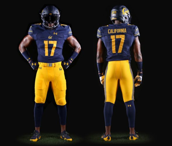California Golden Bears unveil new Under Armour-designed football uniforms | Chris Creamer's SportsLogos.Net News and Blog : New Logos and New Uniforms news, photos, and rumours