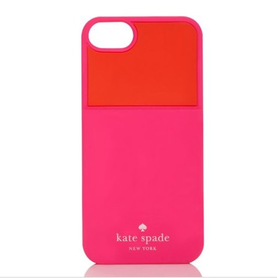 Colorblocked Pocket Silicone iPhone 5 Case