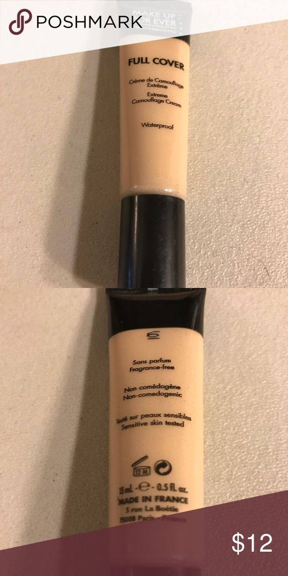 Makeup forever full cover extreme camouflage cream Makeup forever full cover extreme camouflage cream, waterproof, made in France, used. Thanks for checking out Luxury1cosmetics! Offers are welcomed, bundles are discounted!! Makeup Forever Makeup