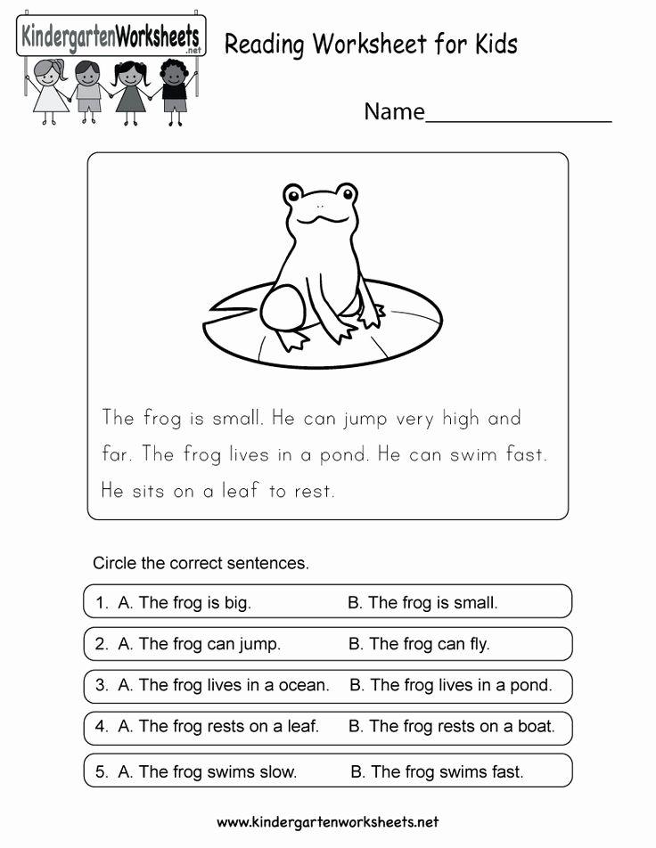 Free Printables For Kindergarten Reading Servicenumber Org In 2020 Reading Worksheets Kindergarten Reading Worksheets English Worksheets For Kids