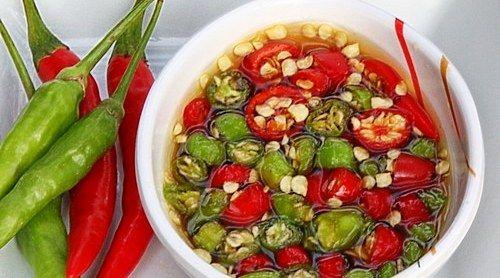 """Fish Sauce with Thai Chilis – """"Prik Nam Pla"""" – Thai Condiment"""