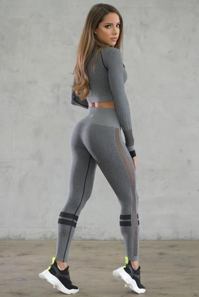 f5d5e21623 Sexy Back Leggings in 2019 | Fit | Seamless leggings, Grey yoga ...