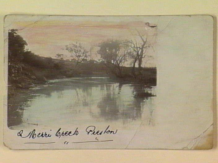 Merri Creek Preston [picture] , State Library of Victoria 9 (ca.1905)