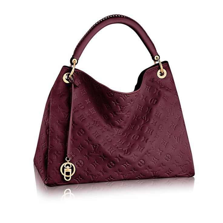 ARTSY MM Monogram Empreinte Leather in WOMEN's HANDBAGS  collections by Louis Vuitton