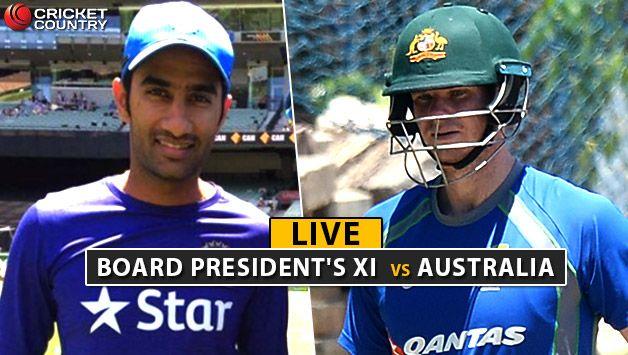 LIVE CRICKET SCORE Board President's XI vs Australia at Chennai Head falls for 65 - Cricket Country #757Live