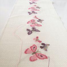 Butterfly cross stitch kanaviçe kelebek
