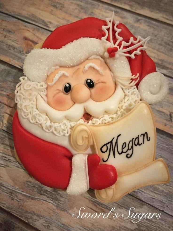 Santa.  By Sword's Sugars.  ♡