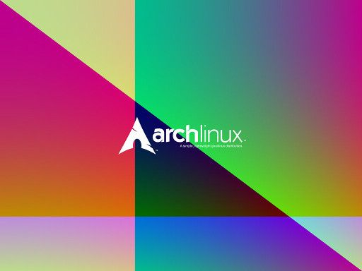 Colorful ArchLinux Wallpaper 5
