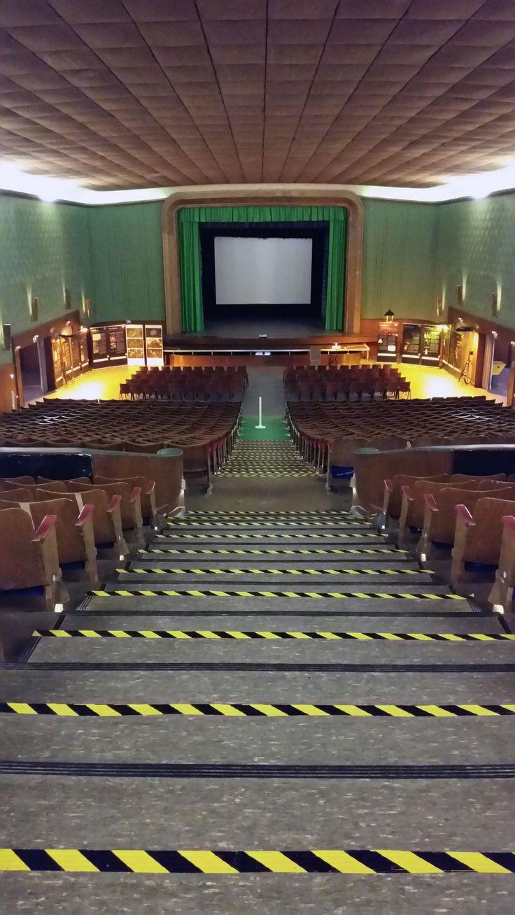 Der alte Kino-Saal in der ehemaligen Ordensburg Vogelsang