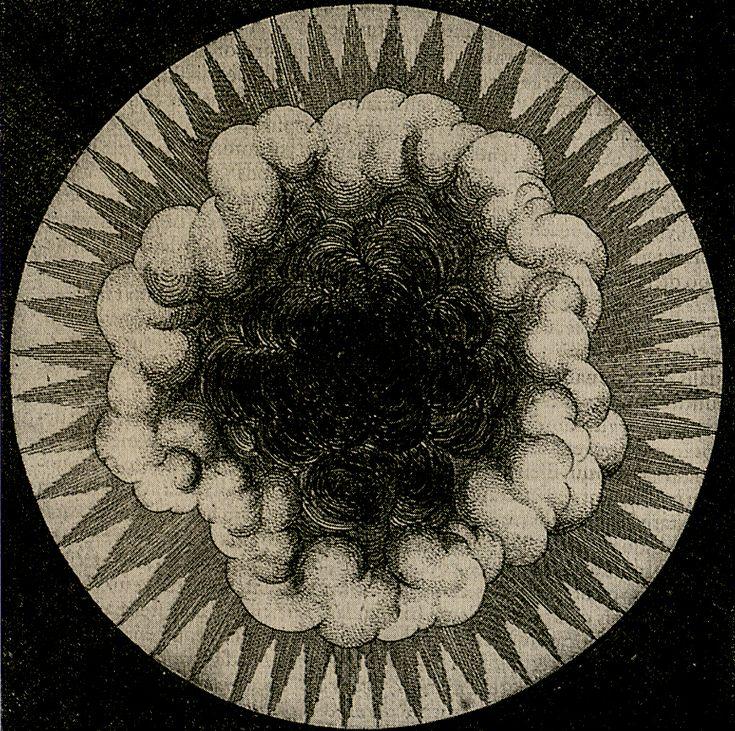 // 'Utriusque Cosmi maioris salicet et minoris metaphysica..' Robert Fludd Oppenheim 1617