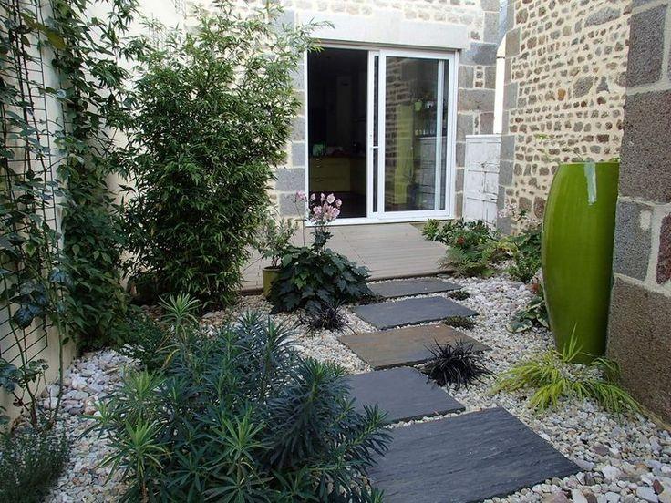 Amenager Jardin Devant Maison Elegant Quelques Ides Damnagement
