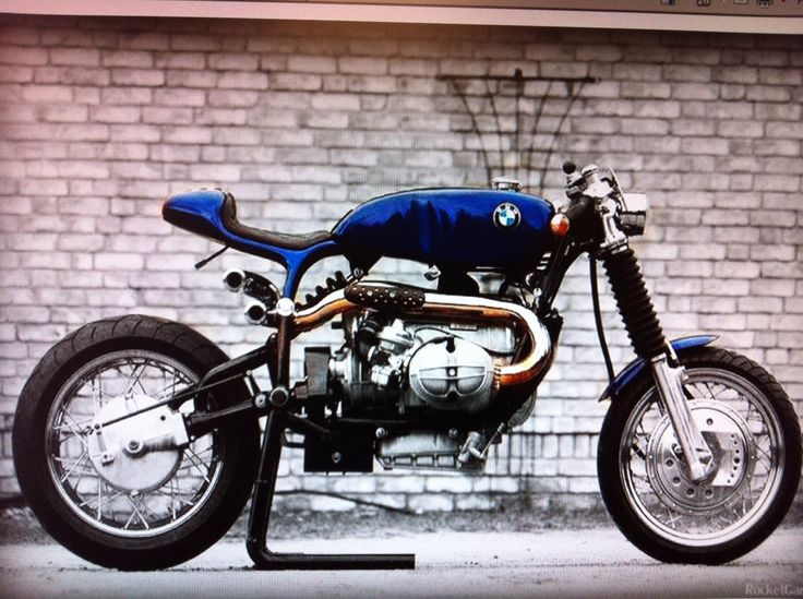 modern cafe custom from vintage bmw airhead   motorcycles