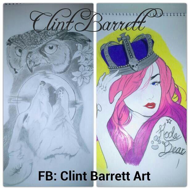 Clint Barrett Art