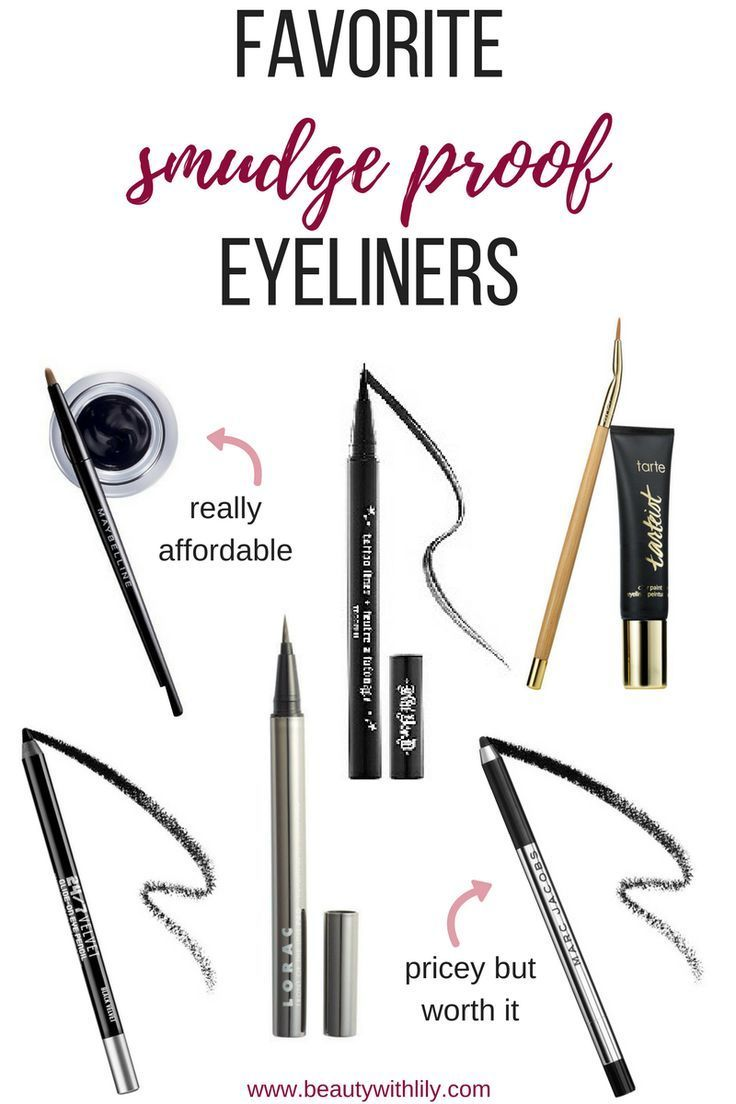 Smudge Proof Eyeliners + Tips & Tricks - Beauty With Lily