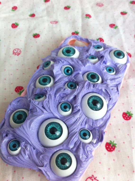 Eyeball pastel iphone case