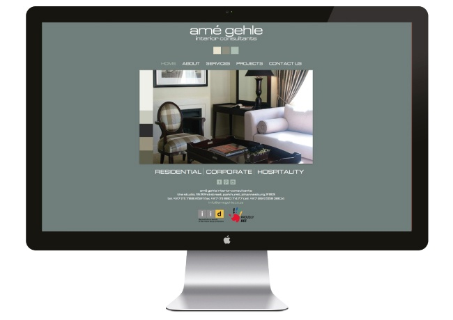 Ame Gehle - Web Design by Angus Ewing and Developed by Lynda Ewing at FUZE!  www.fuze-sa.com