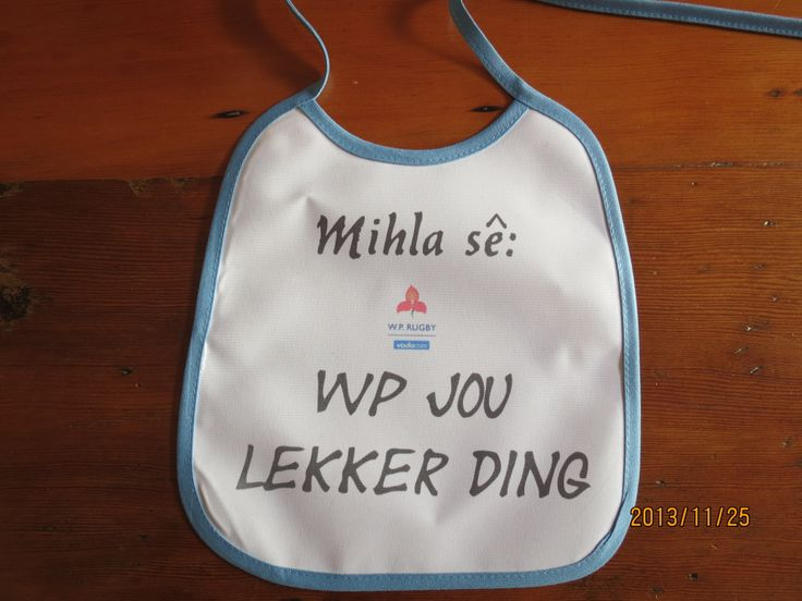 make you own baby bib for a special one