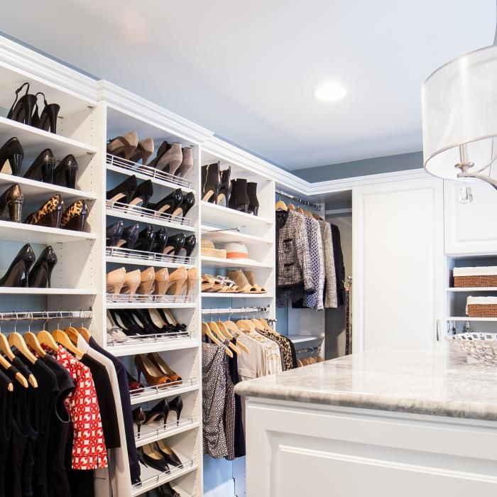Transform Your Master Bedroom Suite With A Custom Walk In Closet System  From Closet America That Fits Your Needs And Space.