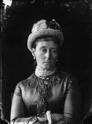 """Princess Alice of the United Kingdom,Grand Duchess of Hesse (Darmstadt) and By Rhine.  """"AL"""""""