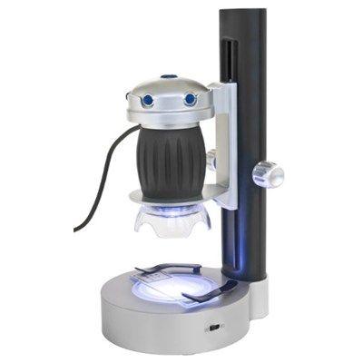 Chollo en Amazon España: Microscopio digital USB Bresser por solo 28,93€ (un 28% de descuento sobre el precio anterior y precio mínimo histórico)