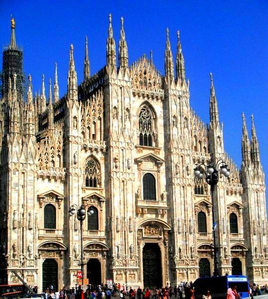 Duomo. Milan, Italia