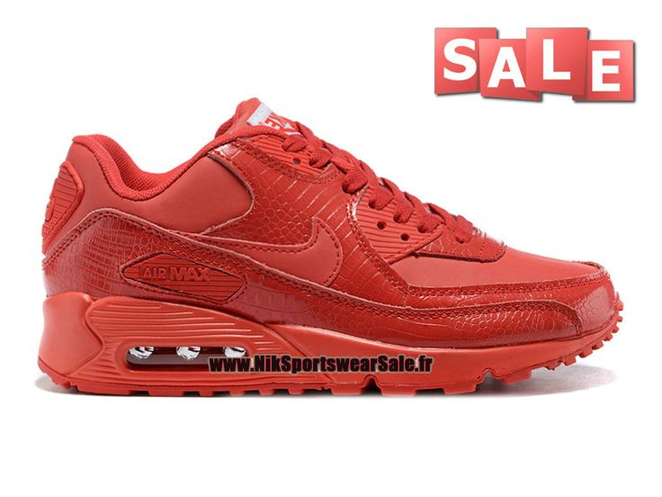 Nike Air Max 90 Anniversary - Chaussure Nike Sportswear Sale Pour Homme Rouge…