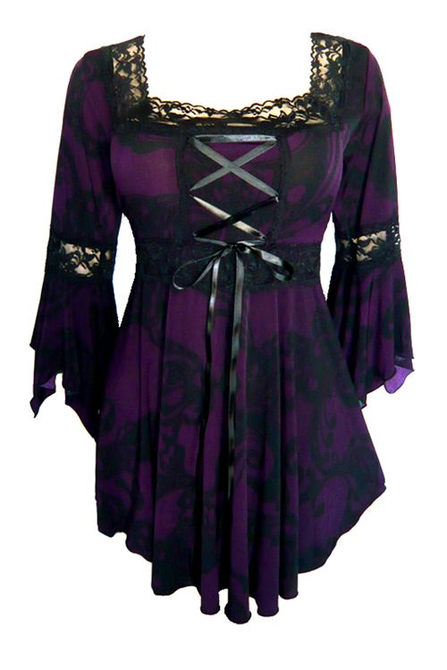 Medieval Corsets for Sale   ... size Renaissance corset top in blackberry swirl print with black lace