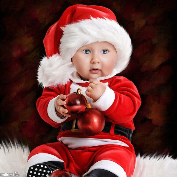 Little Santa claus! Click to add your baby's face to this photo montage. It's from Imikimi, a free photo montage site.  #santa #Christmas #baby #babysfirstchristmas