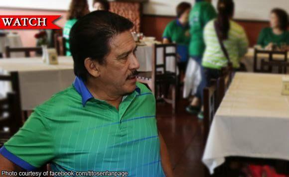 Senator Tito Sotto: Pagsibak sa mga corrupt officials, plus factor kay President Rodrigo Duterte