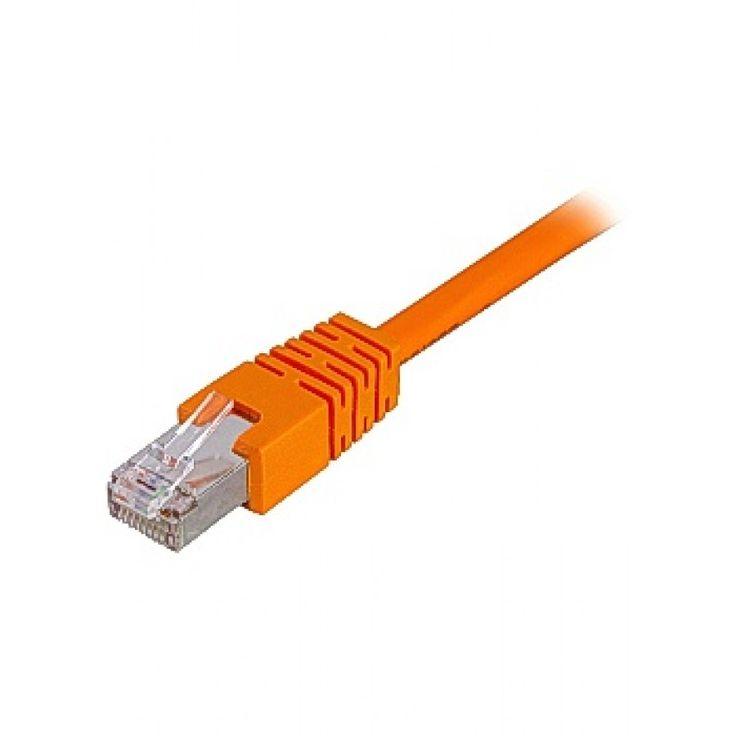 Kabel DELTACO Nätverk UTP Cat6 1,5m oran