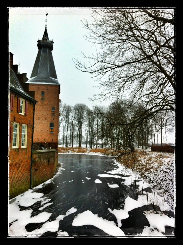Kasteel Doorwerth winter