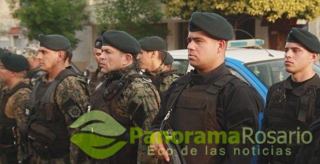 Grupos tácticos realizan tareas preventivas – Panorama Rosario
