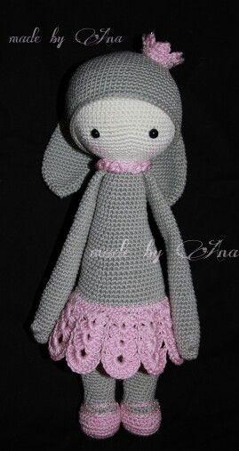 ★ Lalylala Prinzessin Penélope ★ Grundanleitung Rita Rabbit von Lydia Tresselt ★ www.lalylala.com ★ www.pinterest.com/Maschenraabe/selfmade-crochet/